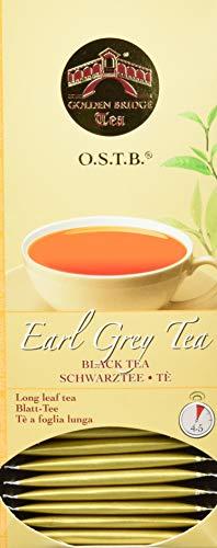 Almar Golden Bridge Premium Tea O.S.T.B - Earl Grey - 30 Teefilter, 66 g