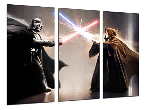 Cuadro Fotográfico Star Wars, Darth Vader Tamaño total: 97 x 62 cm XXL
