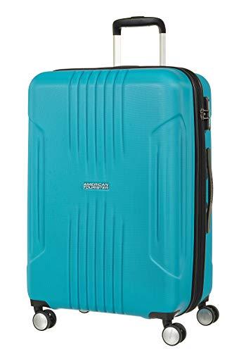 American Tourister 88745-1809 - Bolsa de Viaje, 71 L, 4 Rueda(s), Cremallera, Color Azul