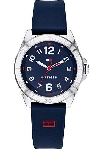 Tommy Hilfiger Reloj analógico de cuarzo para niños, talla única, azul 32005950