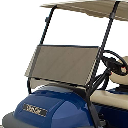 Tinted Foldable Windshield for 2004 & Up Club Car Precedent Golf Carts