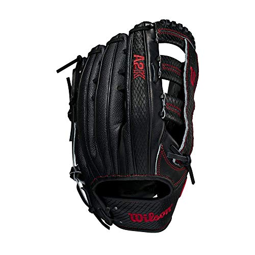 """Wilson A2K 1775 SuperSkin 12.75"""" Outfield Baseball Glove - Right Hand Throw"""