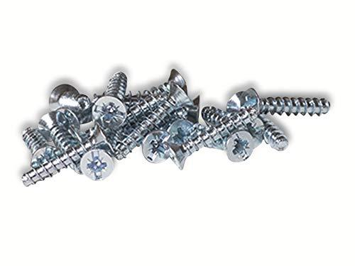 F-Tronic Geräteschrauben für Schalterdosen 32x16 mm im Beutel zu 100 Stück