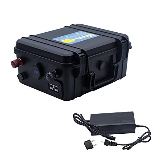 24V 80AH 100AH 150AH Lifepo4 paquete de baterías a prueba de agua 24V de iones de litio para el sistema solar/Motor Home/Barco/Carros de golf batería del coche (24V 150AH)