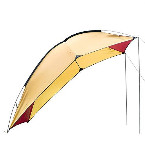 Angle-w Gama alta Al aire libre cuenta portátil trasera del vehículo for acampar auto-conducción recorrido barbacoa de varias personas a prueba de lluvia sombrilla de playa pérgola dosel carpa de picn