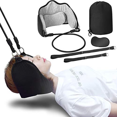 Hals Hängematte, Funxim Tragbare Nacken Hängematte Kopf für Chronische Nacken und Schulterschmerzen, Relax Hammock Für Büro Haus Männer