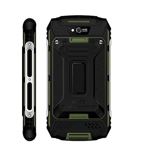 Teléfono Móvil 4G, Resistente Al Agua, Larga Vida útil, Teléfono Inteligente Militar, 2GB + 16GB, Teléfono Inteligente Para WIFI, Mensajería, Calendario, Calculadora, Reloj,(Normativas europeas)