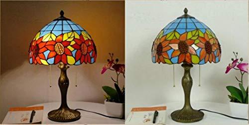 Tiffany Lámpara Room sala de estar personalidad retro iluminación línea de noche línea de noche E27 AC85-265 V mesa de lámpara