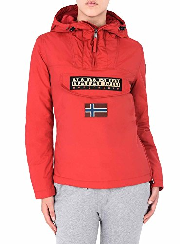 Napapijri Damen Rainforest W WINT 1 Jacke, Rot (Sparkling Red R66), Small