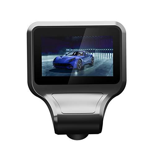 KKmoon T99 2.35 Pulgadas Car DVR HD Grabador de Conducción para Coche, 1080P Inteligente IPS Dash CAM Lente Dual Delantera y Trasera,170 ° Gran Angular,G-Sensor,Visión Nocturna