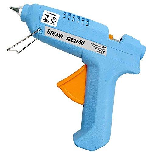 """""""Pistola de Cola 40W Hm40 Bivolt Hikari, Hikari, HM40, Azul"""""""