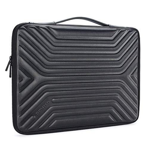 Caja Protectora De Protector De Cáscara Dura A Prueba De Choques Compatible con Manga para Laptop para 10 13 14 15.6 Pulgadas MacBook Air MacBook Pro (Color : Black, Size : 10 Inch)
