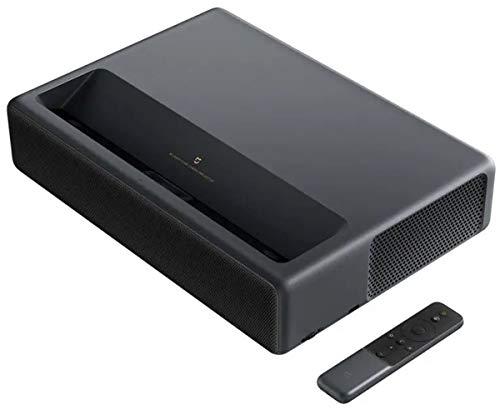 "Xiaomi Mi 4K Laser Projector 150\"" (Ultra-HD, 80-150\"" Bilddiagonale, 1600 ANSI Lumen, ALPD 3.0, 2 x 15 Watt Stereo Lautsprecher, Dolby/DTS, WLAN, Diverse Anschlüsse, Google Assistant, Android TV 9.0)"