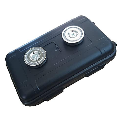 Nuevo coche magnético caja de seguridad almacenamiento llave secreta titular de dinero compartimento oculto