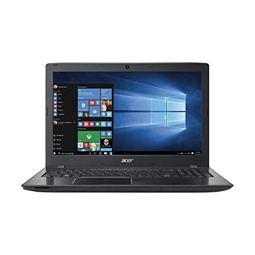 Acer Aspire E E5-575-52JF 15.6-Inch Laptop (Intel Core i5 6th generation, 4GB RAM ,1TB HHD, DVD+W Optical Drive, Windows 10 Home), Obsidian black (Renewed)