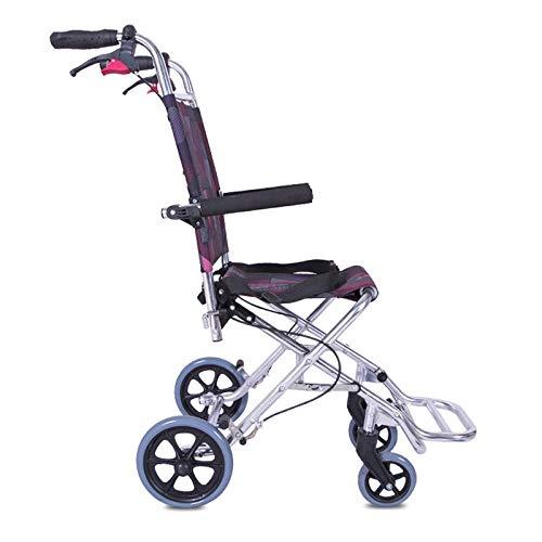 PLBB3K Aircraft Rollstuhl Aluminiumlegierung Ultraleicht Tragbarer Kinderrollstuhl