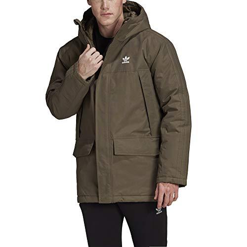 adidas Fur Parka Padde Sport Jacket, Hombre, branch, S