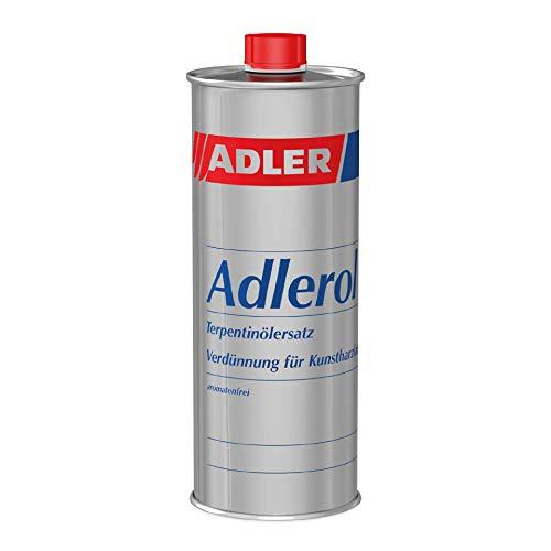 ADLER Adlerol - 500 ml - Profi Pinselreiniger aromatenfrei, auch als Terpentinersatz bei Ölfarben und Verdünnung für Kunstharzlacke bestens geeignet
