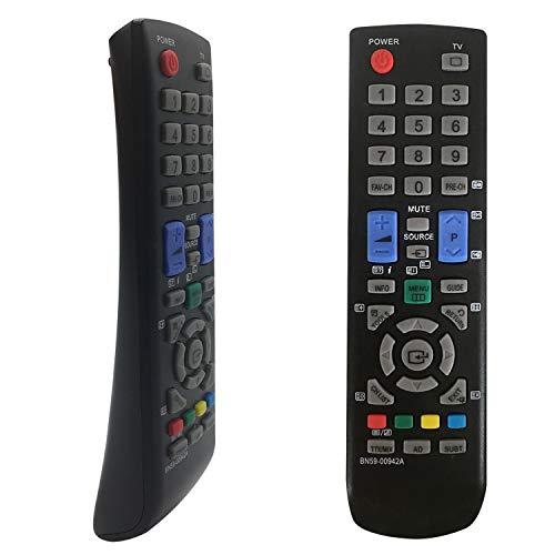 Nuevo Reemplazo Mando TV Samsung BN59-00942A para Mando Distancia Samsung BN59-00942A BN59-00942A BN59-01005A AA59-00496A BN59-01303A - No es Necesario configurar Mando Samsung TV