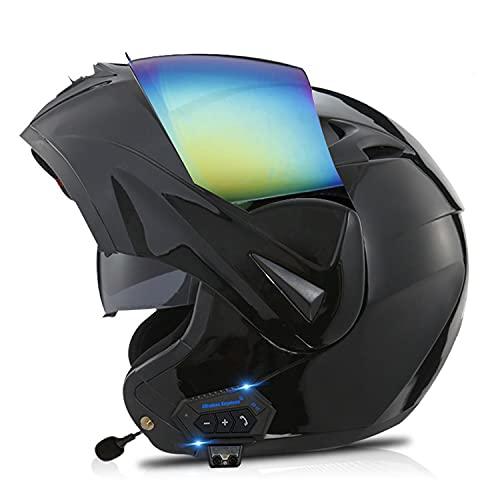 XIUJC Bluetooth Motorradhelm...