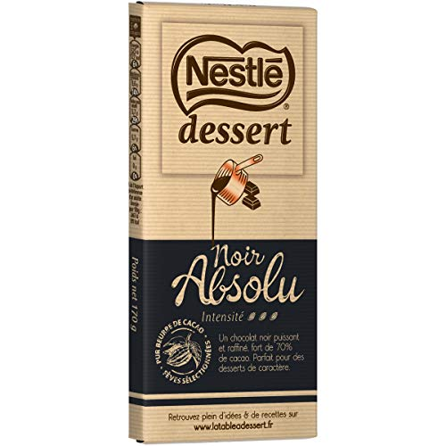 chocolat noir dessert lidl