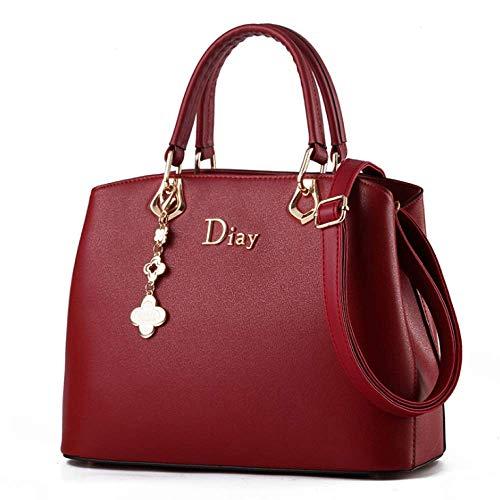 Handtas voor dames, schoudertas met één schouder, waterdicht en slijtvast, grote capaciteit en meerdere vakken, geschikt voor winkelen, feesten en werken.