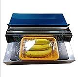 Macchina per sigillatura del film Cling, involucro del film fresco della frutta del cibo, imballaggio del sigillante del film del film, 220V / 350W