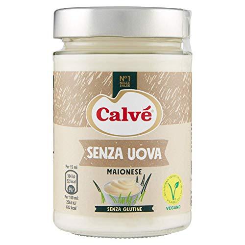 Maionese Calvé senza uova no glutine Vegano 3 x 270 g