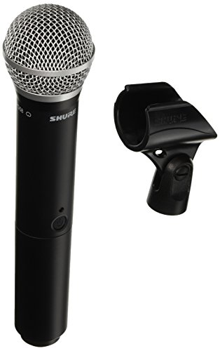 Shure BLX2/PG58 Wireless Handheld Microphone Transmitter with PG58 Capsule - Receiver Sold Separately