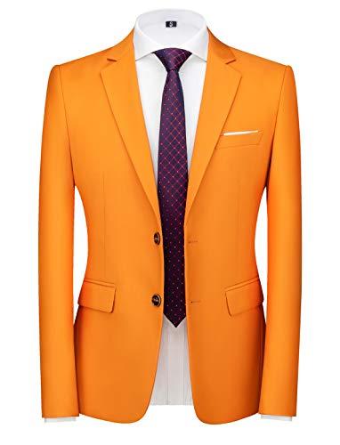 Mens Suit Jacket Slim Fit Sport Coa…