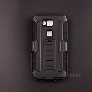 Cocomii Robot Armor Huawei G8/GX8 Case New [Heavy Duty] Premium Belt Clip Holster Kickstand Shockproof Hard Bumper Shell [Military Defender] Full Body Dual Layer Rugged Cover for Huawei G8 (R.Black)