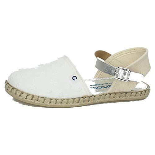 CONGUITOS JV121604 ESPARTEÑAS CONGUITOS NIÑA Zapatillas Blanco 27