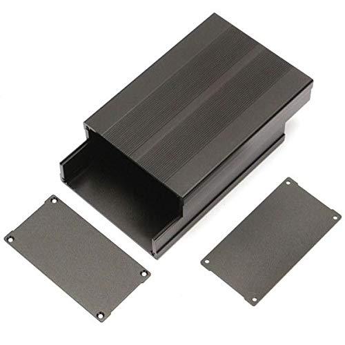 XiaoMall 150 x 105 x 55 mm Aluminium Instrumentenkasten PCB Gehäuse DIY Elektronikkoffer