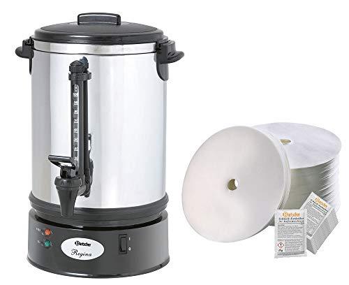 Bartscher Rundfilter Kaffeemaschine Regina Plus 90T + 500 Rundfilter + Entkalker