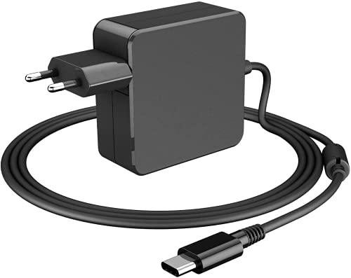 65W / 61W USB C Ladegerät, Netzteil Typ C Universelles Laptop-Ladegerät für Mac Book Pro, Dell, HP, Thinkpad, ASUS, Acer, Huawei Matebook und andere Laptops oder Smartphones mit USB C