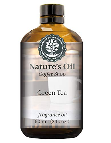 Green Tea Fragrance Oil (60ml) For Diffusers, Soap Making, Candles, Lotion, Home Scents, Linen Spray, Bath Bombs, Slime