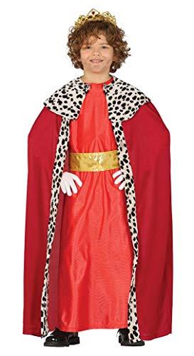 GUIRMA Costume re magio Rosso Bambino Gaspare presepe Vivente