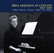 J.S.BACH CHROMATIC FANTASY & FUGUE BWV903, TOCCATA BWV914 + BEETHOVEN PIANO SONATAS NOS.23 & 30 SCHUMANN ROMANCE OP.28-2 + CHOPIN NOCTURNES NOS.13 & 19, SCHERZO NO.3, MEDTNER SONATA TRAGICA, ETC.(2CD)