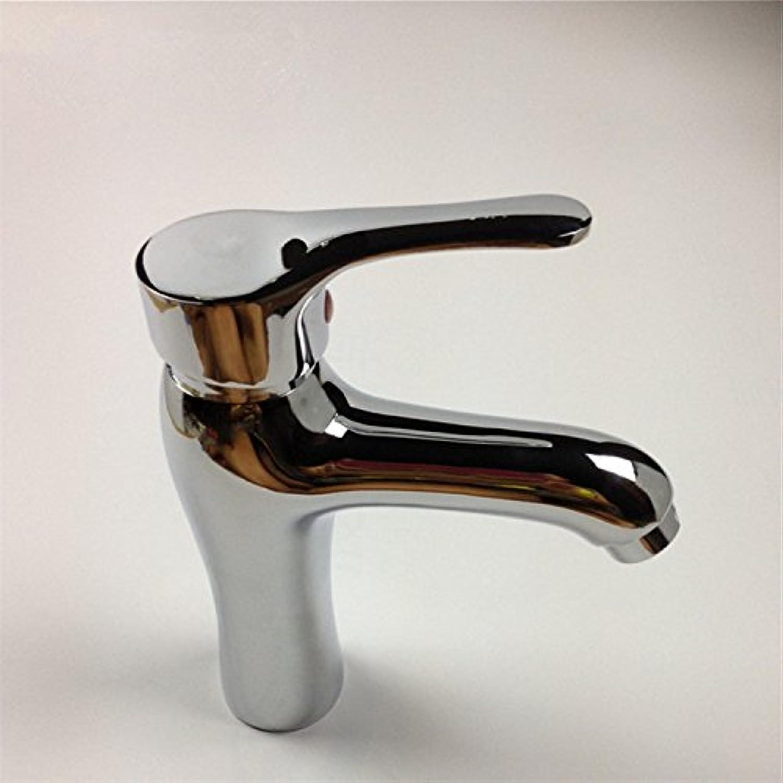 Bijjaladeva Antique Bathroom Sink Vessel Faucet Basin Mixer Tap Modern simple zinc alloy hot and cold basin sink faucet sink mixer