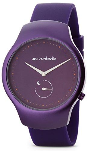 Runtastic Moment FUN Uhr & Aktivitätstracker (mit Silikonband) Plum Violett