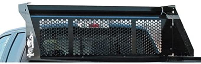 Buyers Products DumperDogg 5531010 Steel Bolt-On Cab Guard, Black