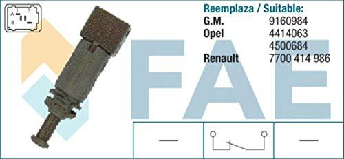 SPECTROMATIC Interruptor de luz de parada 24890 para Dacia Nissan Opel Renault 7700414986 9160984
