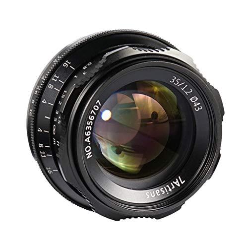 Almencla Lente de Gran Angular F1.2 de 35 mm, Objetivo para Canon