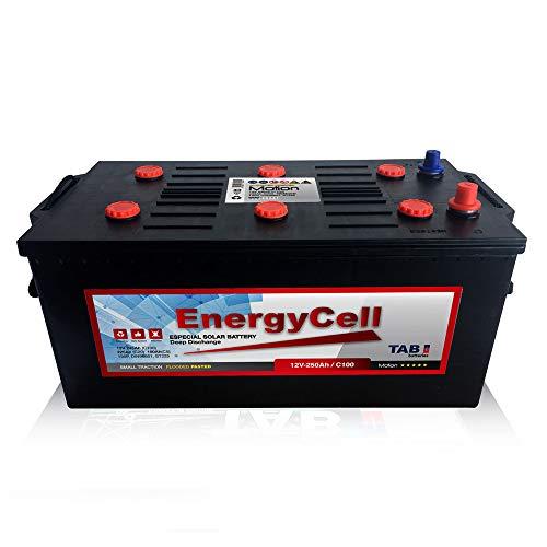 Batería 250Ah 12V Ciclo Profundo Monoblock para Instalaciones Solares