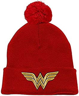 Headwear (Unisex-) 3D Gold Logo (Red)