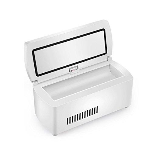 Insulin-Kühlbox HuAma Tragbare Mini Medizin Intelligente Kühlung Wiederaufladbare Auto Tragbaren Kleinen Kühlschrank 20X9.4X9Cm (7.87X3.7X3.54Inch)-A1