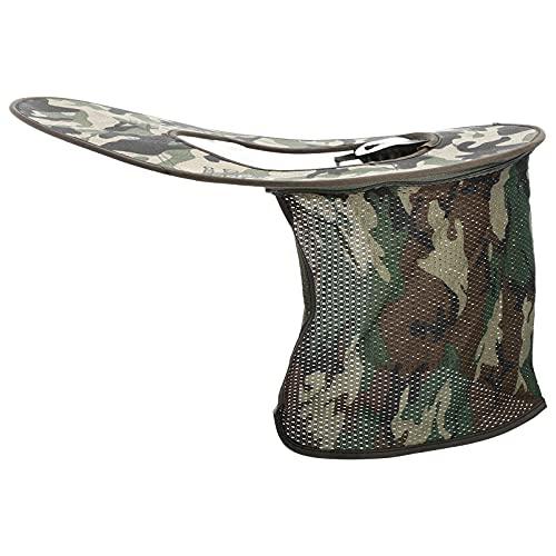 Angoily Sombra de Sombrero Duro Malla Completa Neckdetachable Parasol Protección UV Casco de Seguridad Sombrero de Verano Visera para La Construcción