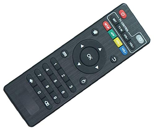 SccKcc Replacement Remote Control, Suitable for Android TV Box MXQ, MXQ Pro, MXQ-4K, X96, X96W, X96 Mini, X96 Q, T95 Mini, T95H, T95M, T95N, V88, R69, Q+,HK 1, X10, MX10