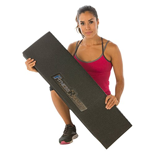 Fitness Reality Water-Resistant Folding Exercise Equipment Mat (79