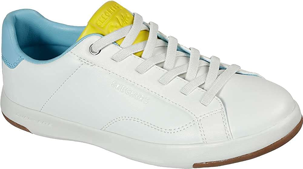 Skechers Women's C-Lites Blocked Party White/Multi Fashion Sneakers 10